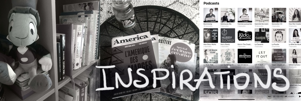 Inspiratiions Livre Podcast video magazine film bibliographie biographie artistes ecrivains